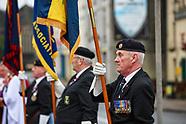2020-11-08 Remembrance Service in Carmarthen