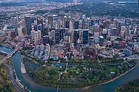 Downtown Calgary & Prince's Island
