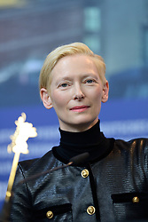 Tilda Swinton attending The Souvenir Press Conference as part of the 69th Berlin International Film Festival (Berlinale) in Berlin, Germany on February 12, 2019. Photo by Aurore Marechal/ABACAPRESS.COM