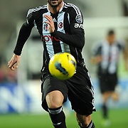 Besiktas's Hugo Almedia during their Turkish superleague soccer match Besiktas between IBBSpor at BJK Inonu Stadium in Istanbul Turkey on Sunday, 11 December 2011. Photo by TURKPIX