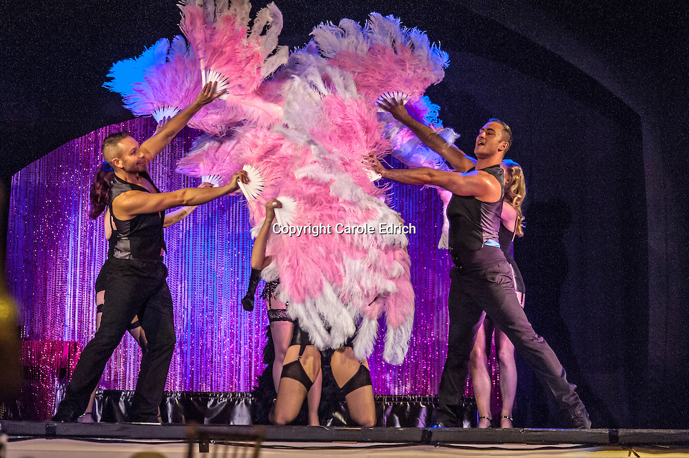 The First Wam Bam Club at the Bloomsbury Ballrooms The first Wam Bam burlesque club at Bloomsbury Theatre, London 2013
