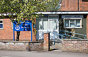 Small local police station, Pewsey, Wiltshire, England, UK