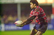 Gloucester, Gloucestershire, UK., 04.01.2003, Terry Fanolua, action from the, Zurich Premiership Rugby match, Gloucester vs London Wasps,  Kingsholm Stadium,  [Mandatory Credit: Peter Spurrier/Intersport Images],