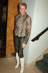 LADY ALEXANDRA SPENCER-CHURCHILL at the opening party of Pengelley's, 164 Sloane Street, London SW1 on 22nd February 2005.<br /><br />NON EXCLUSIVE - WORLD RIGHTS