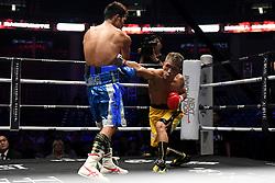 July 31, 2018 - Qingdao, Qingdao, China - Qingdao, CHINA-Japanese boxer Sho Kimura Sho defeats Filipino boxer at WBA World Boxing Championship in Qingdao, east China's Shandong Province, July 27th, 2018. (Credit Image: © SIPA Asia via ZUMA Wire)