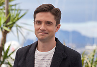 Topher Grace at the Blackkklansman (Black Klansman)  film photo call at the 71st Cannes Film Festival, Tuesday 15th May 2018, Cannes, France. Photo credit: Doreen Kennedy