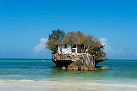 Tanzanie, archipel de Zanzibar, île de Unguja (Zanzibar), plage de Matemwe, Rock restaurant // Tanzania, Zanzibar island, Unguja, Matemwe beach, Rock restaurant