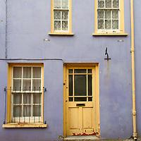 Colorful face of Irish house at Killarney