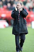 Photo: Rich Eaton.<br /> <br /> Bristol City v Millwall. Coca Cola League 1. 16/12/2006. Gary Johnson, manager of Bristol City, happy with his teams victory at home