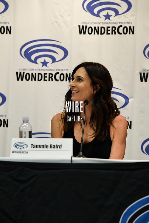 Tammie Baird at Wondercon in Anaheim Ca. March 31, 2019
