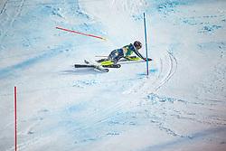 Anna Swenn Larsson (SWE) during second run at the Ladies' Slalom at 56th Golden Fox event at Audi FIS Ski World Cup 2019/20, on February 16, 2020 in Podkoren, Kranjska Gora, Slovenia. Photo by Matic Ritonja / Sportida