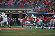 Mississippi Rebels quarterback Chad Kelly (10) vs. Vanderbilt Commodores at Vaught-Hemingway Stadium at Ole Miss in Oxford, Miss. on Saturday, September 26, 2015. (AP Photo/Oxford Eagle, Bruce Newman)