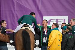 Bahamdan Kamal (KSA) - Noblesse des Tess<br /> Van Paesschen Stanny (BEL)<br /> Olympic Games London 2012<br /> © Dirk Caremans
