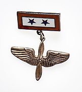 Blue Star pin worn by mother's who had sons or daughters in the military during WWII.