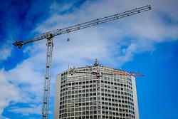 Building work in progress at Arena Central in Birmingham Ciry Centre, England, UK<br /> <br /> (c) Andrew Wilson | Edinburgh Elite media