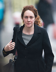 © London News Pictures. 08/03/2013. London, UK. Former Chief Executive Officer of News International REBEKAH BROOKS arriving at The Old Bailey court in London to face charges related to the police investigation into phone hacking at News International and payments to officials. Photo credit: Ben Cawthra/LNP