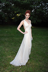 LYDIA HEARST her Great grandfather was Media Mogal William Randolph Hearst. She is the daughter of Patricia Hearst at the annual Serpentine Gallery Summer Party in association with Swarovski held at the gallery, Kensington Gardens, London on 11th July 2007.<br />