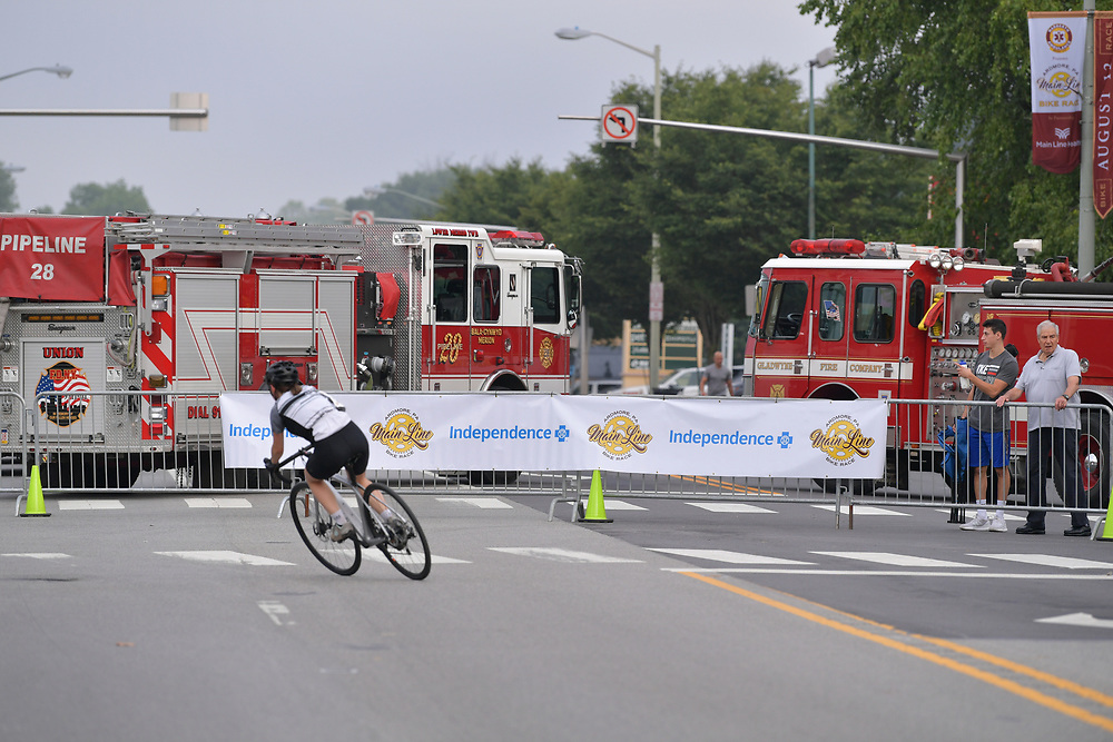 Second Annual Main Line Bike Race on August 12, 2018 In Ardmore, PA..
