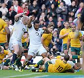 20131102 England vs Australia, Twickenham. UK