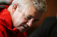 The Wales rugby team press conference and team training on 18/11/2008 ahead of their autumn international against New Zealand.  Wales head coach Warren Gatland. pic by Andrew Orchard ©  Andrew Orchard sports photography
