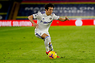 Leeds United midfielder Ian Poveda (7) in action during the Premier League match between Leeds United and Brighton and Hove Albion at Elland Road, Leeds, England on 16 January 2021.