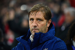 November 6, 2019, Munich, Germany: Pedro Martins, Olympiacos Coach, seen in action during the UEFA Champions League group B match between Bayern and Olympiacos at Allianz Arena in Munich. (Credit Image: © Bruno De Carvalho/SOPA Images via ZUMA Wire)