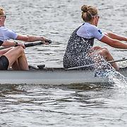 NZL W4- (b) Kayla PRATT (2) Kelsey BEVAN (3) Grace PRENDERGAST (s) Kerri GOWLER – 1st place 6:14.36 FRI 29 AUG 2014<br /> <br /> Crews racing the World Championships on The Bosbaan, Amsterdam, The Netherlands, 29/30/31 August 2014  Copyright photo © Steve McArthur / @rowingcelebration www.rowingcelebration.com