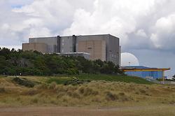 Sizewell A & B nuclear power station, Suffolk 2015 UK