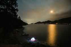 August 30, 2017 - Okanagan Lake, Okanagan Mountain Provincial Park, Kelowna, British Columbia, Canada (Credit Image: © Preserved Light Photography/Image Source via ZUMA Press)