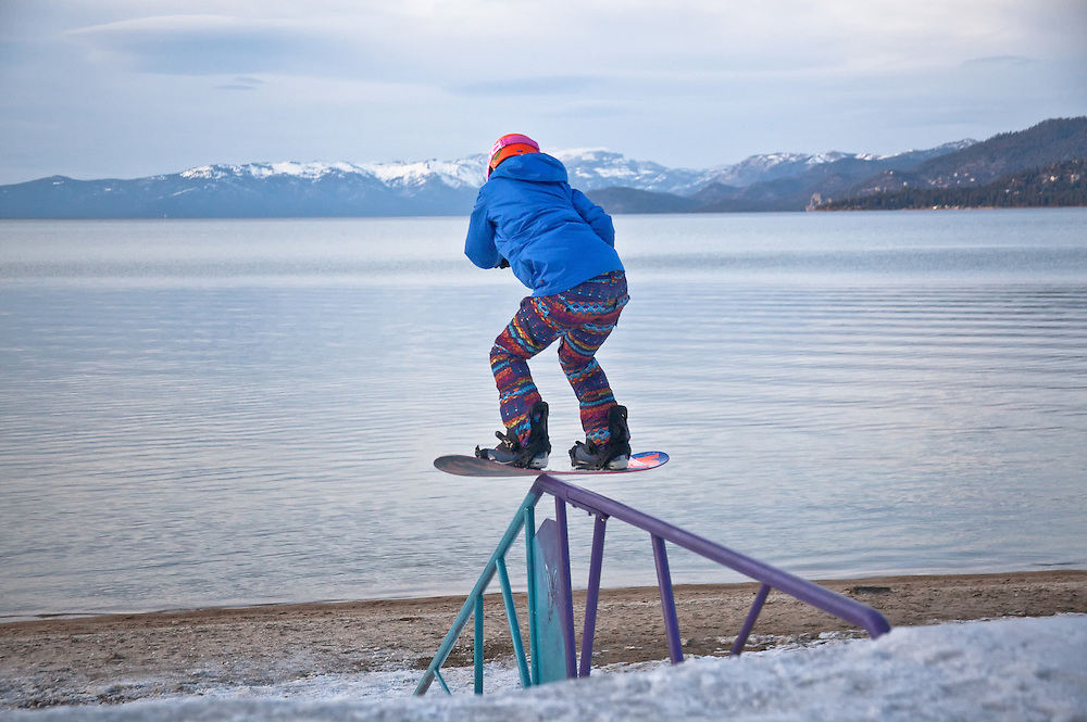 Alexis Roland (Burton).  Lake Tahoe Basin.  California/Nevada.