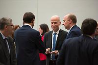 DEU, Deutschland, Germany, Berlin, 09.10.2018: Der CDU/CSU-Fraktionsvorsitzende Ralph Brinkhaus vor Beginn der Fraktionssitzung der CDU/CSU.