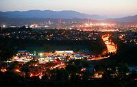Scenes around the Santa Clarita Valley, 2009. Photo by David Sprague