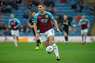 Burnley forward Sam Vokes (9) during the The FA Cup 3rd round match between Burnley and Barnsley at Turf Moor, Burnley, England on 5 January 2019.