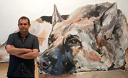 June 23, 2017 - June 23, 2017 (Malaga) presentation of the exhibition 'the heart sends', of Santiago Ydáñez. In the centro de arte contemporaneo with 50 pictorial works (Credit Image: © Fotos Lorenzo Carnero via ZUMA Wire)