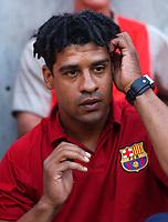 Frank Rijkaard - Barcelona Manager, Leicester City v Barcelona, Pre-Season Friendly, 8/08/2003. Credit: Colorsport / Matthew Impey DIGITAL FILE ONLY