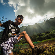 Promotional Photography for the 2016 Makahiki Challenge in Oahu, Hawaii.  January 16th, 2016.  Photography by Michael Der; ©GamefaceMedia