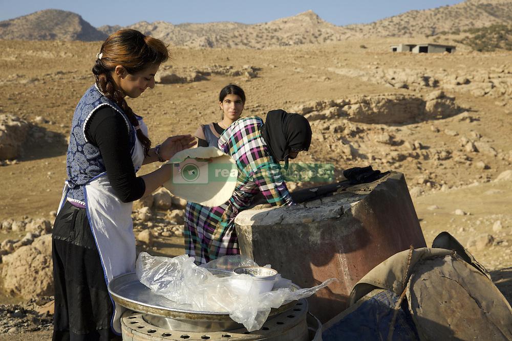 November 5, 2016 - Duhok, Kurdistan, Iraq - Daily life of Shepherd family in Duhok, a small community of Christians in Duhok, Kurdistan, Iraq on 5 November 2016  (Credit Image: © Noe Falk Nielsen/NurPhoto via ZUMA Press)