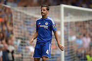 Cesc Fabregas of Chelsea looking on. Barclays Premier League, Chelsea v Crystal Palace at Stamford Bridge in London on Saturday 29th August 2015.<br /> pic by John Patrick Fletcher, Andrew Orchard sports photography.
