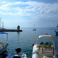 Harbour boats;<br />Bol, Brac, Croatia.