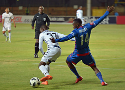 The ABSA Premiership match that took place at the Bidvest Wits stadium on Saturday night between Bidvest  Wits F.C.   Wits Terrence Dzvukamanja 37 and SS Unt Onismor Bhasera 14<br /> Picture: Timothy Bernard African News Agency/ANA