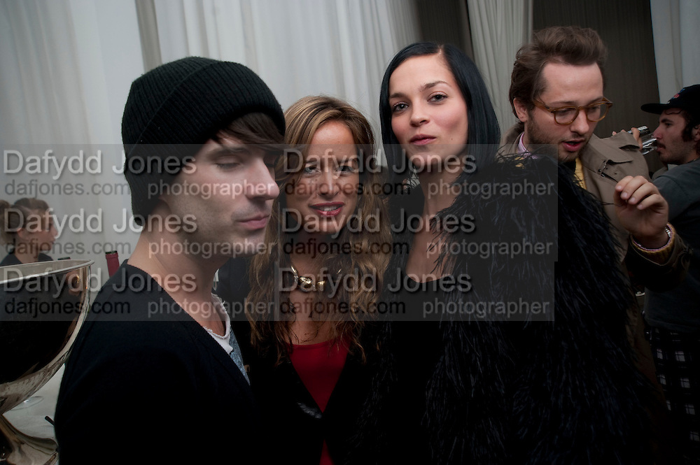 JADE JAGGER; LEIGH LEZARK, Robert Mapplethorpe's A Season in Hell. Alison Jacques Gallery and afterwards at the Sanderson Hotel. Berners St. London. 13 October 2009.