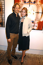 Actress GEORGIE RYLANCE and DR GREG BAILEY at the launch of 'Glenmorangie 5 Senses' an exhibition of photographs by Mike Figgis held at Proud Camden, Stables Market, London NW1 on 13th May 2008.<br /><br />NON EXCLUSIVE - WORLD RIGHTS