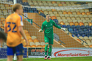 Marek Stech of Mansfield Town (1) during the The FA Cup match between Mansfield Town and Dagenham and Redbridge at the One Call Stadium, Mansfield, England on 29 November 2020.