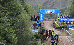 Matt Walker of Madison Saracen Factory Team during day two of the 2017 UCI Mountain Bike World Cup at Fort William. PRESS ASSOCIATION Photo. Picture date: Sunday June 4, 2017. Photo credit should read: Tim Goode/PA Wire. RESTRICTIONS: Editorial use only, no commercial use without prior permission