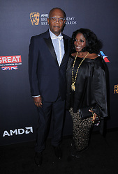 Samuel L. Jackson, LaTanya Richardson bei den British Academy Britannia Awards in Beverly Hills / 281016<br /> <br /> *** British Academy Britannia Awards held at Beverly Hilton Hotel, Beverly Hills, USA, October 28, 2016  ***