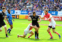 May 14, 2017 - Paris, France - JOE WEBBER of New Zealand team during the match against France of HSBC World Rugby Sevens Series at Jean Bouin stadium of Paris France.New Zealand beat France 14-0 (Credit Image: © Pierre Stevenin via ZUMA Wire)