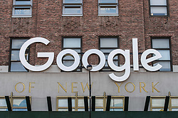 August 4, 2017 - New York City, New York, United States of America - Google's NYC offices in downtown Manhattan (Credit Image: © Sachelle Babbar via ZUMA Wire)