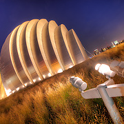 North Side of The Kauffman Center For The Performing Arts, Kansas City Missouri.