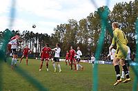 Fotball , 22. october 2016 , Eliteserien , PostNord-ligaen avd 3 , Vidar - Stord<br /> Stord i aksjon mot Vidar.<br /> Foto: Andrew Halseid Budd , Digitalsport