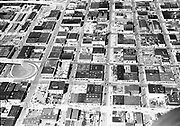 """Ackroyd 08267-1 """"Portland aerial looking north from Hawthorne Ave near Union Ave. April 22, 1958"""""""
